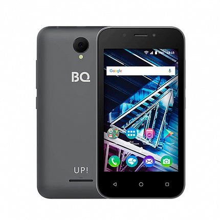 BQ 4028 UP! GRAY (2 SIM, ANDROID)
