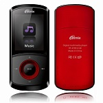 Плеер MP3 RITMIX RF-4700 4Gb Red