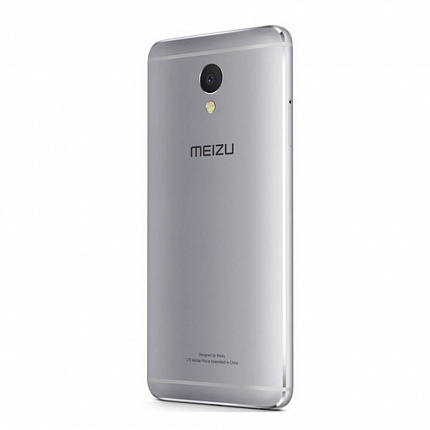 MEIZU M621H M5 NOTE 16Gb LTE SILVER (2 SIM, ANDROID)