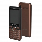 MAXVI M6 COFFEE BLACK (2 SIM)