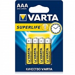 Батарейка VARTA SUPERLIFE AA в блистере 4шт\12бл.в коробке (рус.) 2006 113414