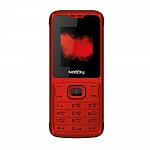 NOBBY 110 RED BLACK (2 SIM)