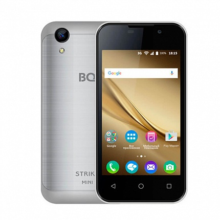BQ 4072 STRIKE MINI SILVER (2 SIM, ANDROID)