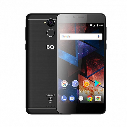 BQ 5594 STRIKE POWER MAX BLACK (2 SIM, ANDROID)