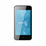 OYSTERS INDIAN V BLACK WHITE (2 SIM, ANDROID)