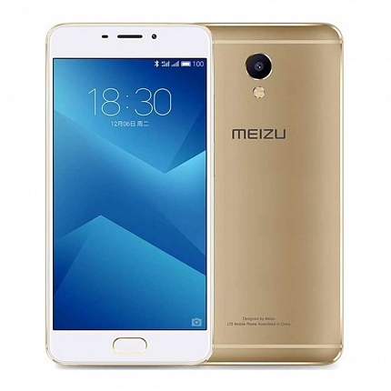 MEIZU M621H M5 NOTE 16Gb LTE GOLD (2 SIM, ANDROID)