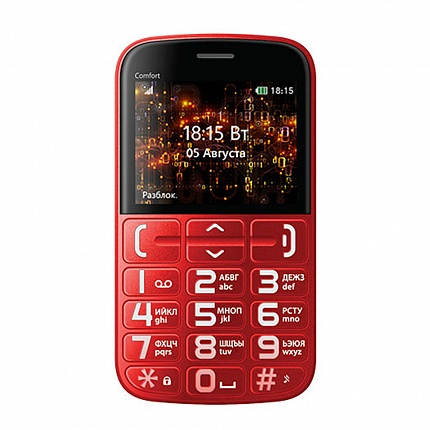BQ 2441 COMFORT RED+BLACK (2 SIM)