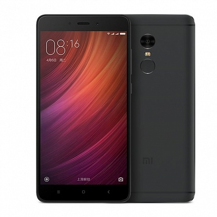 XIAOMI REDMI NOTE 4 64Gb LTE BLACK (2 SIM, ANDROID)