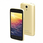 MAXVI MS401 SUNRISE GOLD (2 SIM, ANDROID)