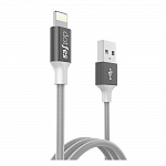 USB кабель DOTFES A03F Lightning MFI (1m) tarnish