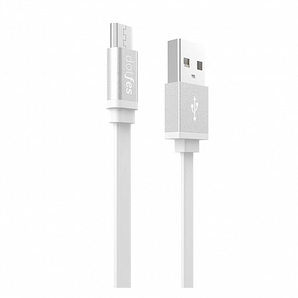 USB кабель micro DOTFES A05M (1m) white