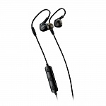 Наушники Bluetooth, Canyon Bluetooth sport earphones with microphone, 0.3m cable, black. (H2CNSSBTHS1B)