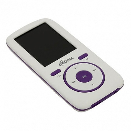 Плеер MP3 RITMIX RF-4450 4Gb White/Violet