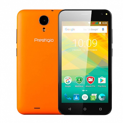 PRESTIGIO PSP3537 WIZE NV3 ORANGE (2 SIM, ANDROID)