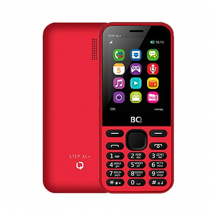 BQ 2831 STEP XL+ RED (2 SIM)