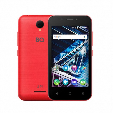 BQ 4028 UP! RED (2 SIM, ANDROID)