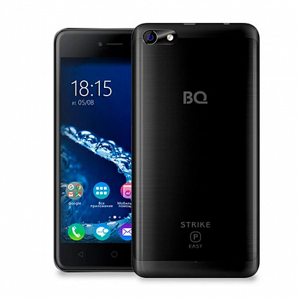 BQ 5058 STRIKE POWER EASY BLACK (2 SIM, ANDROID)