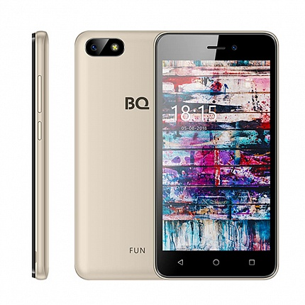 BQ 5002G FUN GOLD (2 SIM, ANDROID)