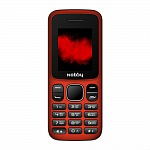 NOBBY 101 RED BLACK (2 SIM)