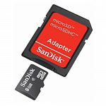 microSD 8GB Sandisk cl.4 +1ad